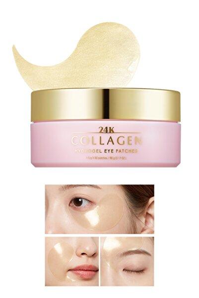 Missha Kolajen ve Altın içeren Sıkılaştırıcı Göz Maskesi 1.4g MISA 24K Collagen Hydro Gel Patch 60 Adet