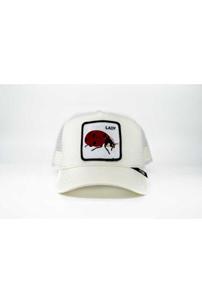 Goorin Bros Unisex Beyaz Spot Standart Şapka