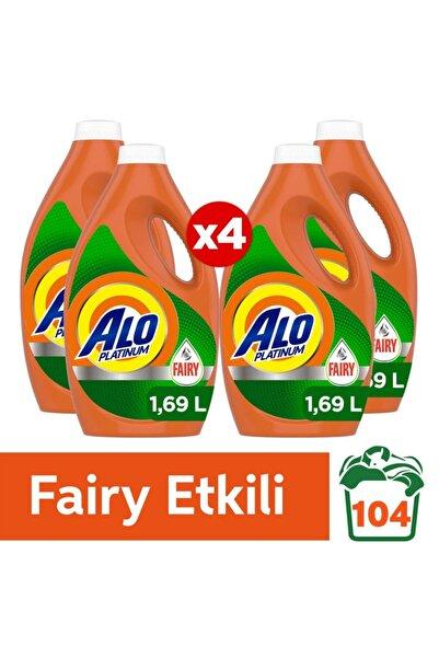 Alo Platinum Fairy Etkili 26 Yıkama x4 Sıvı Çamaşır Deterjanı