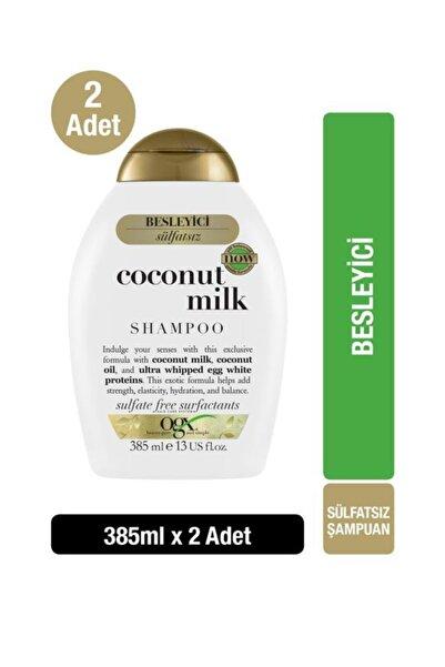 OGX Besleyici Coconut Milk Sülfatsız Şampuan 385 ml x2