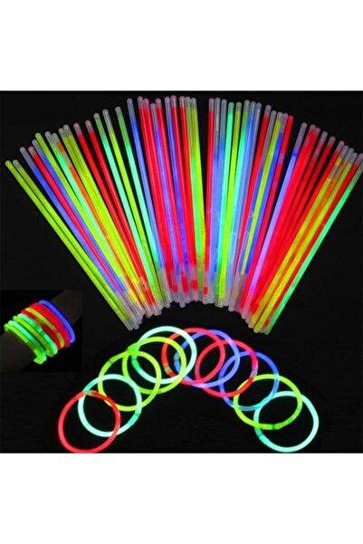 c-alışveriş Glowstick Neon Çubuklar 50 Adet