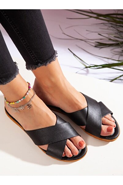 ayakkabıhavuzu Siyah Terlik