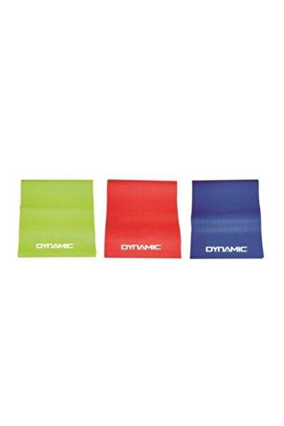 Dynamic 3 'lü Plates Bandı Plates Egzersiz Direnç Lastiği Seti