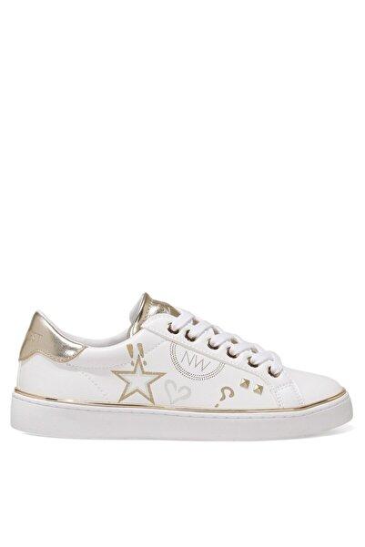 Nine West THYLLE 1FX Beyaz Kadın Sneaker Ayakkabı 101029597