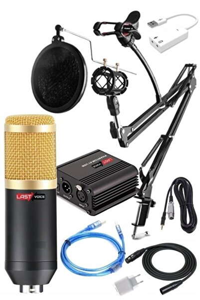 Lastvoice Home Paket Bm800 Mikrofon + Set-01 Stand + Phantom Power