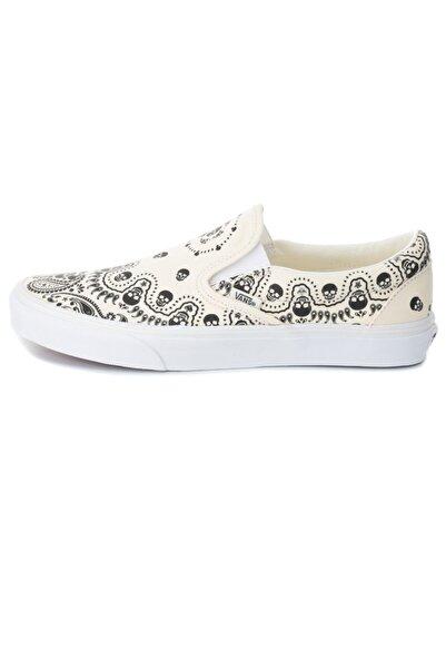 Vans 0a33tb42s1-r Ua Classic Slip-on Spor Ayakkabı Beyaz