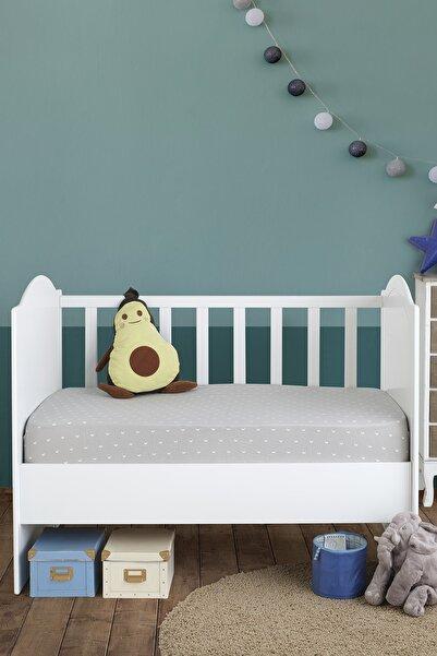LADYNİL 60x120 Bebek Lastikli Penye Çarşaf %100 Pamuk