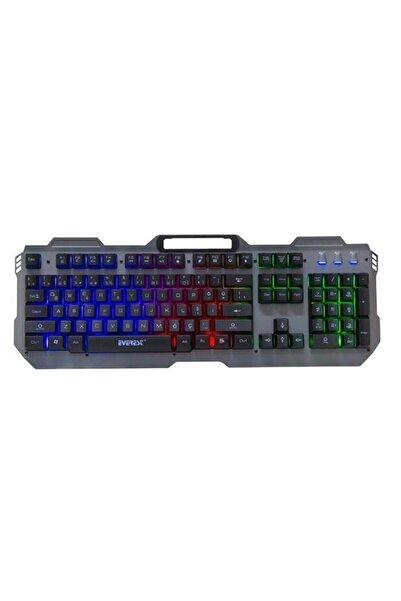 Everest Kb-197 Titanio Sport Metal Kasa Gaming Gökkuşağı Led Işıklı Oyuncu Klavye