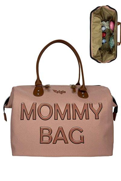 Stylo Mommy Bag Anne Bebek Bakım Çantası-pudra