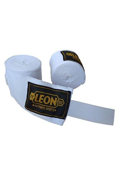 By Leon 1982 Leon Boks, Kickbox, Muay Thai El Bandajı 4,5 Metre Beyaz