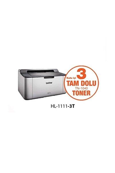 Brother Hl-1111 Orjınal 3 Tonerli Mono Laser 20ppm A4 Yazıcı