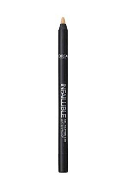 L'Oreal Paris Bej Eyeliner - Infaillible Gel Crayon Eyeliner 13 Beige