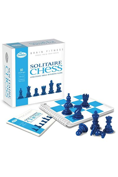ThinkFun Tek Kişilik Satranç (brain Fitness-solitaire Chess) /