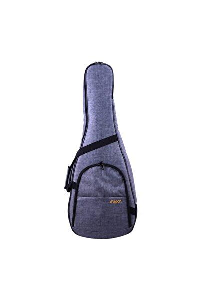 Wagon Case 03 Serisi Gri Akustik Gitar Taşıma Çantası