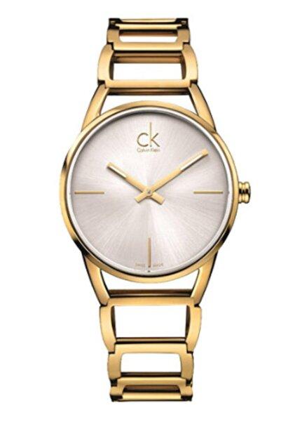 Calvin Klein Kadın Altın Gri Kol Saati Ck K3g23526