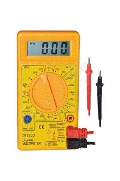 Eltos Dijital Avometre Multimetre Ölçü Aleti Akım Voltaj Direnç Ölçer