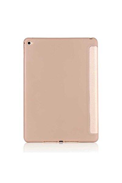 zore Gold Apple Ipad 10.2 (8.nesil) Kılıf Tri Folding Standlı Kılıf