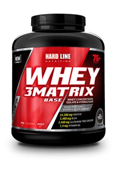 Hardline Whey 3matrix Base 2300 gr - Çikolata Aromalı