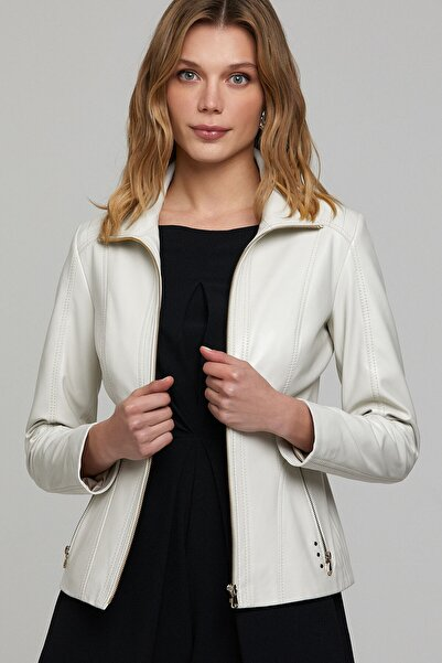 Derimod Kristine Kadın Deri Ceket