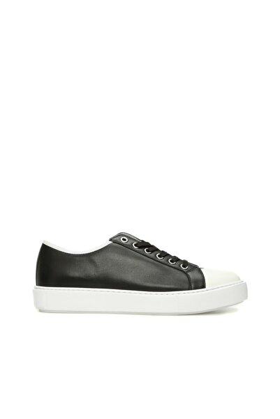 Dıvarese Erkek Siyah Deri Sneaker