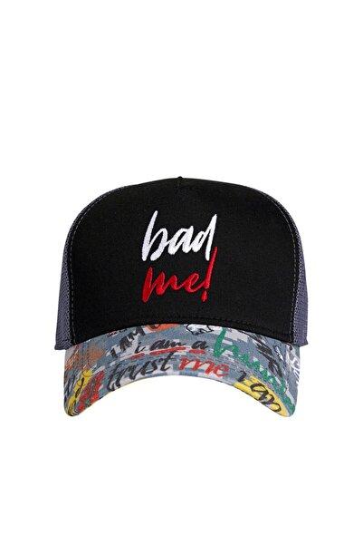 Bad Bear Bad Me Cap Night Siyah Yazlık Kep