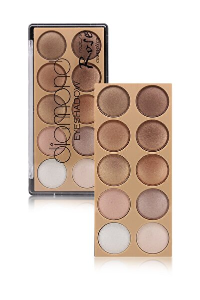 Makeuptime Rose Diamond 10 Lu Far Paleti 01