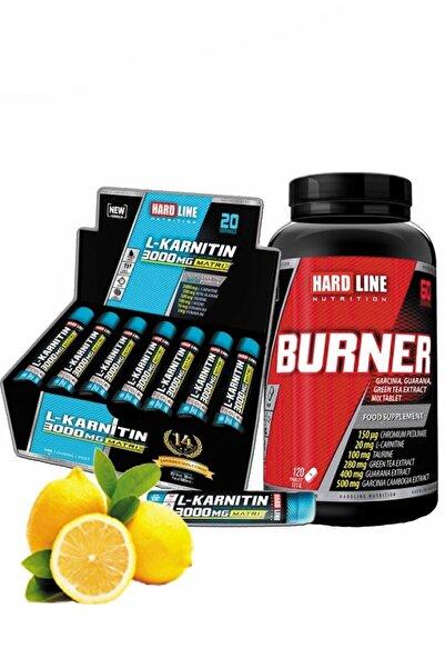 Hardline L-karnitin Matrix 3000 Mg Limon Ve Burner Yağ Yakıcı Form Enerji Diyet Likarnitin