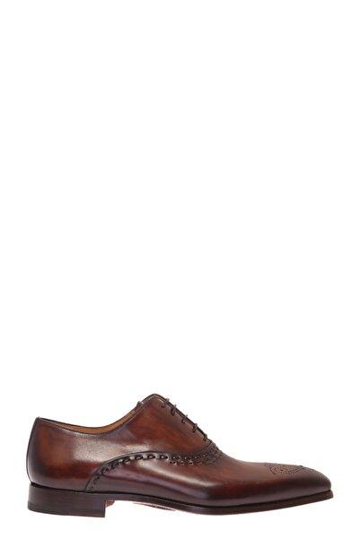 Magnanni Erkek Kahverengi Düz Ayakkabı