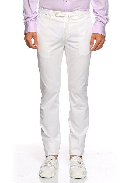 Hackett Erkek Beyaz Pantolon
