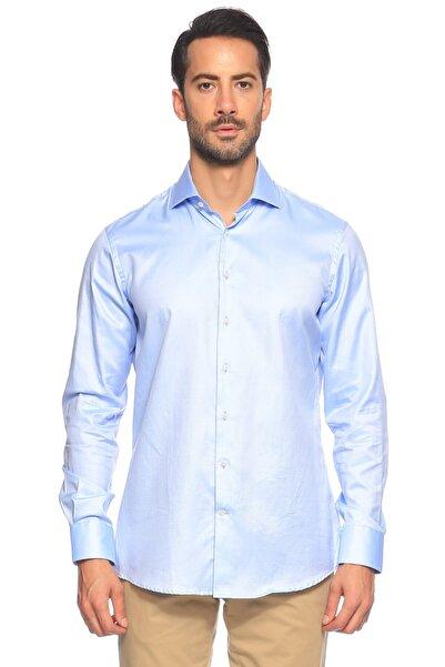 Hackett Erkek Mavi Düğmeli Gömlek