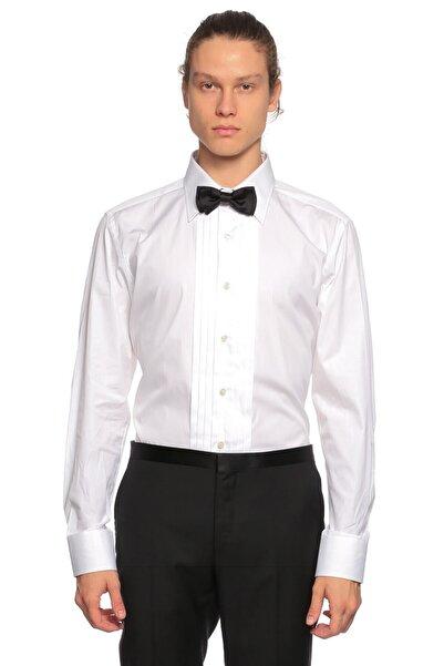 Tom Ford Erkek Beyaz Smokin Gömlek