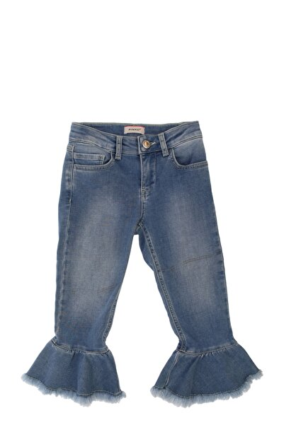 PİNKO Çocuk Buz Mavisi Jean Pantolon