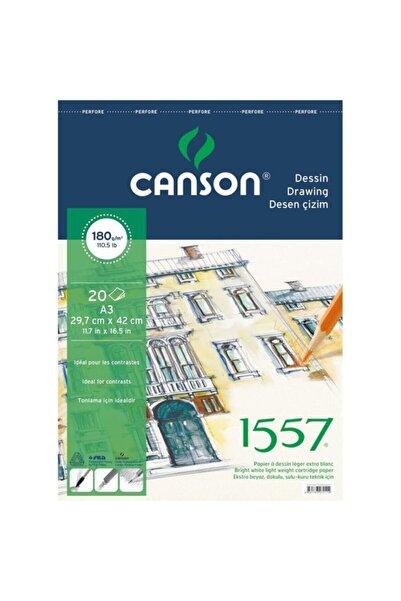 Canson 1557 Resim Ve Çizim Blok 180gr A4 20yp Üstten Spiralli