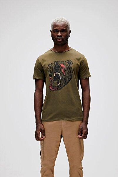 Bad Bear Hard Rock Tee Erkek Baskılı Tişört 21.01.07.024