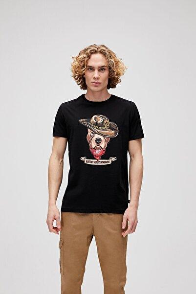 Bad Bear Erkek Siyah Tişört Sherıff Tee