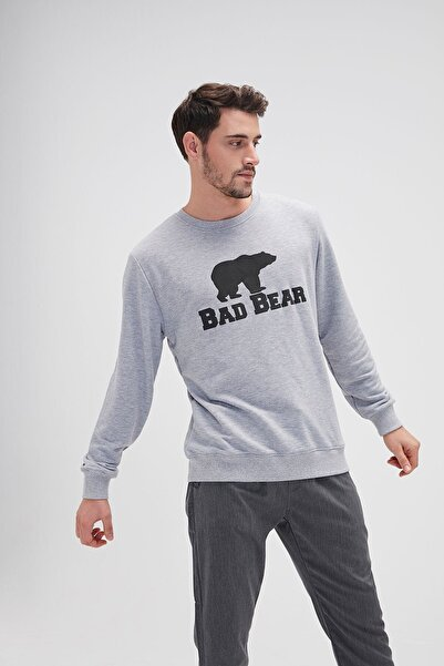 Bad Bear Crewneck Erkek Sweatshirt 20.02.12.011gray Mlng