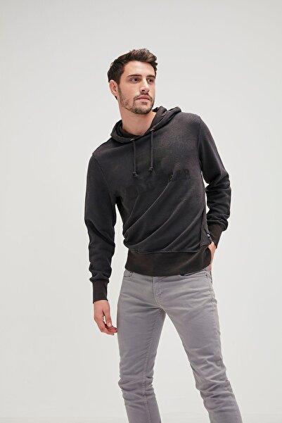 Bad Bear Erkek Siyah Hoodie Sweatshirt