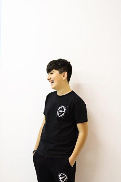 Fortnite Gbp Unısex Siyah T-Shirt