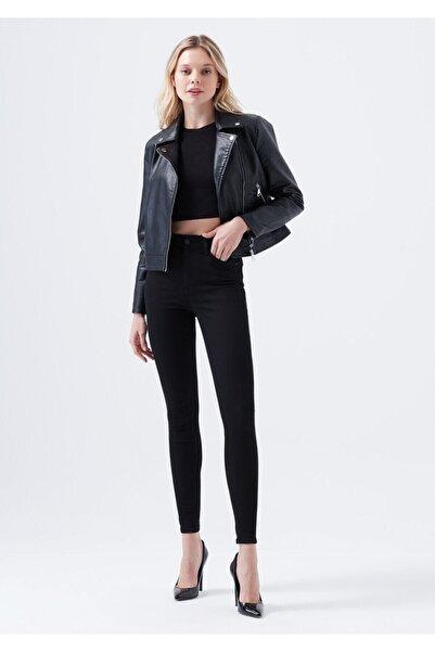 Terrenova E.x.t.r.a Black Yüksek Bel Jeans Pantolon Solmaz Siyah Jeans(TOPARLAYICI)