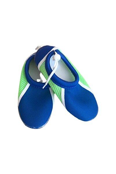 FTM Ayakkabıcılık Unisex Çocuk Lacivert Deniz Ve Plaj Ayakkabısı