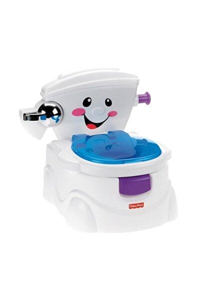 FISHER PRICE Beyaz Eğitici ve Eğlenceli Tuvalet Bmd23