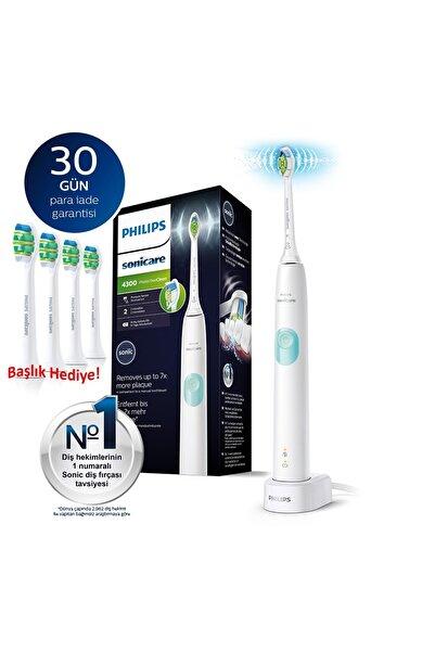 Philips Sonicare Hx6807/24 - Protective Clean 4300 Şarjlı Diş Fırçası + 4'ü Yedek Başlık