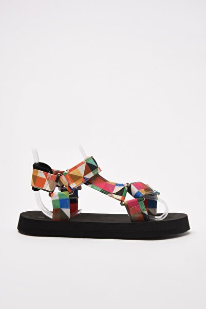 TRENDYOLMİLLA Çok Renkli Kadın Sandalet TAKSS21SD0028