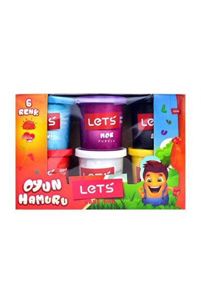 Lets 6 Renk Oyun Hamuru 840 gr L8350