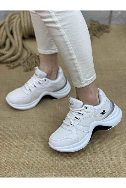 Twingo Kadın Spor Ayakkabı 601 - Beyaz - Beyaz