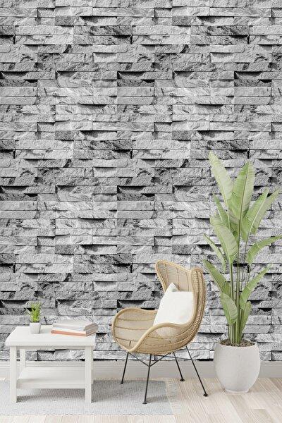 İnci Concept Taş Desen Gri Duvar Kağıdı 5,30 M² 9360