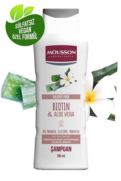 Mousson Biotin Ve Aloe Vera Içeren Dökulme Karşıtı Ve Uzamaya Yardımcı Sülfatsız Şampuan 385 ml