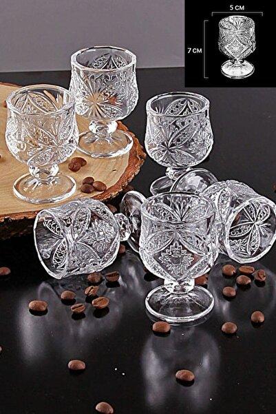DARK KİTCHENS 6 Lı Kahve Yanı Su Bardağı