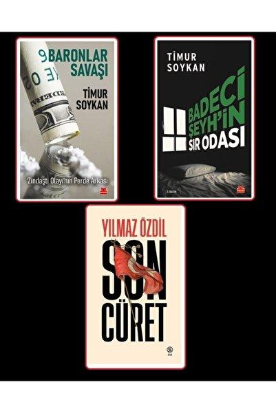 Kırmızı Kedi Yayınevi Timur Soykan 2 Seti # Badeci Şeyh'in Sır Odası # Baronlar Savaş - Yılmaz Özdil # Son Cüret Hediye