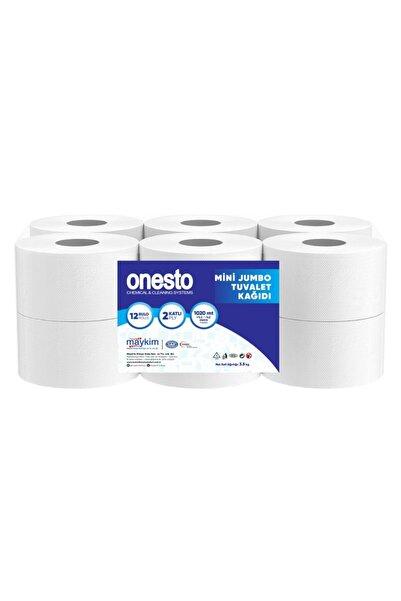 Onesto Mini Jumbo Tuvalet Kağıdı 12 Rulo (3.5kg)